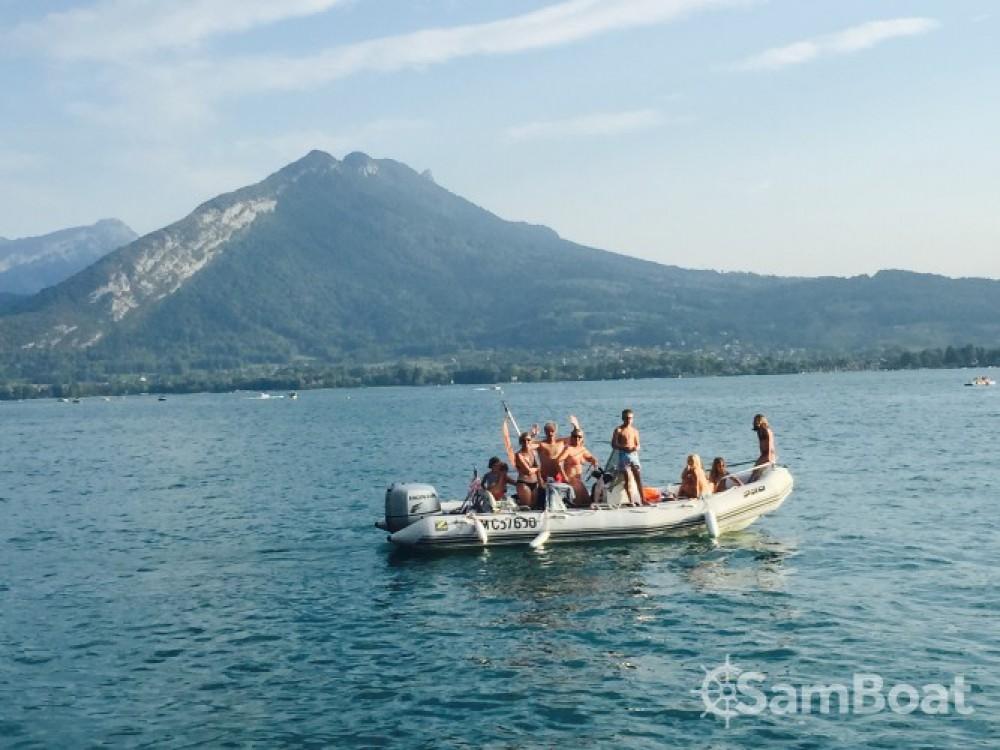 Rental RIB in Annecy - Zodiac Pro Open