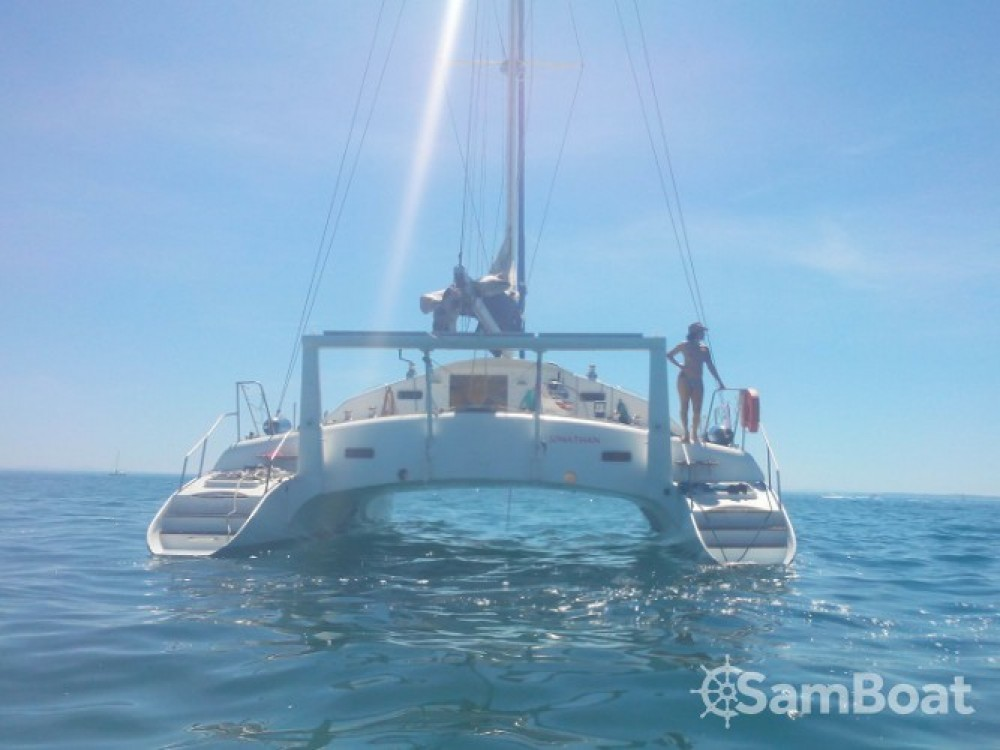 Hire Catamaran with or without skipper Soubise Ajaccio
