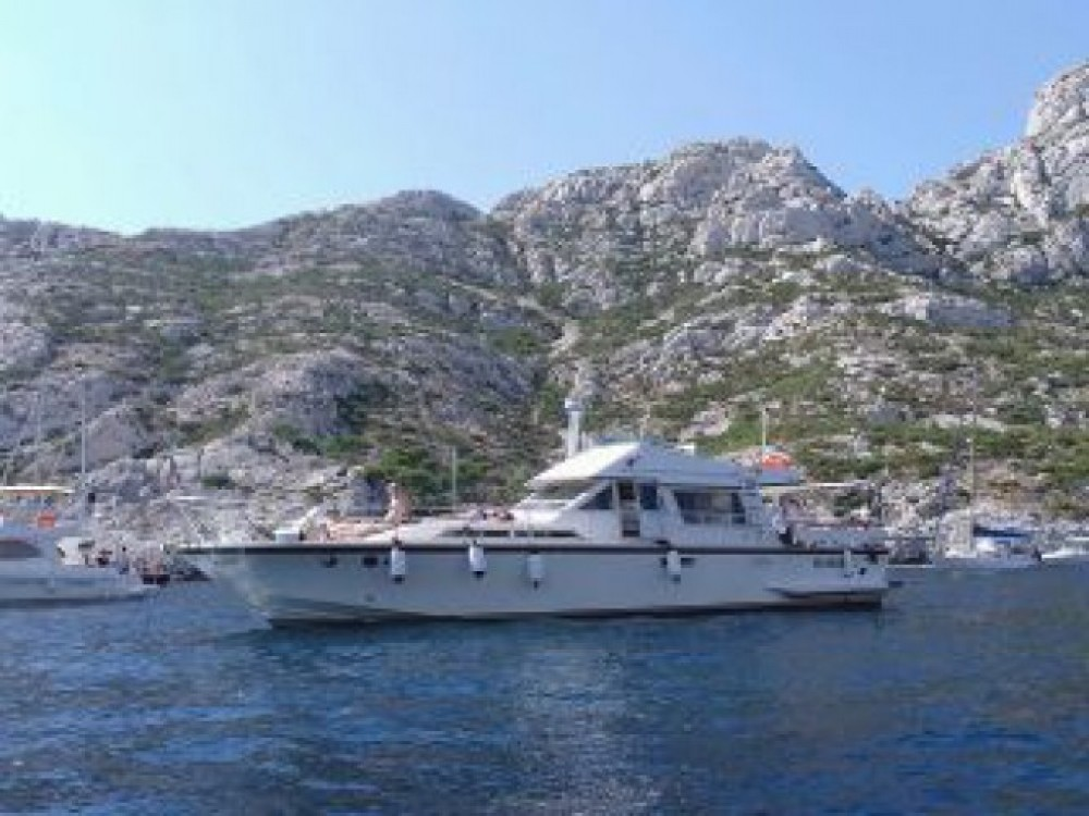 Rental Motorboat in Marseille - Guy Couach Guy Couach 1400