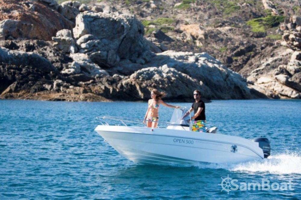 Rental Motorboat in Saint-Laurent-du-Var - Pacific Craft Pacific Craft 500 Open