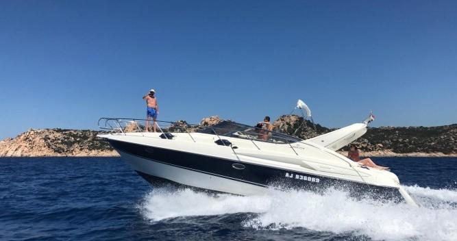 Rental Motorboat in Bonifacio - Cranchi Endurance 39