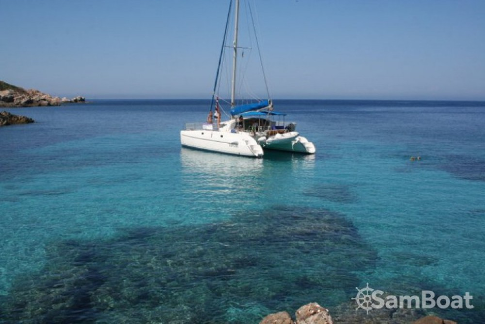 Fountaine Pajot Athena 38 between personal and professional Isthintini/Stintino