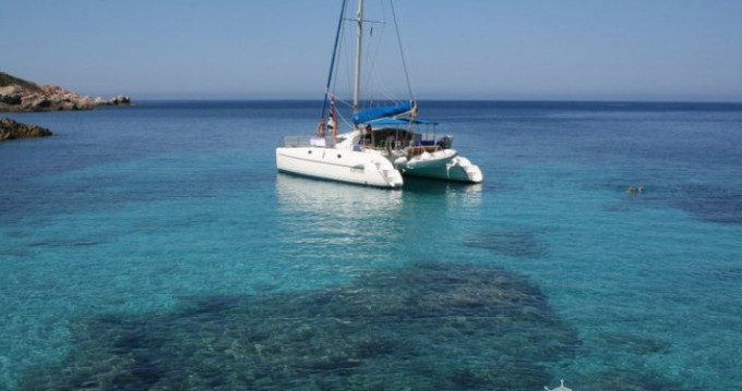 Fountaine Pajot Athena 38 between personal and professional Stintino