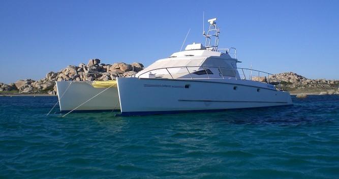 Hire Catamaran with or without skipper Catalu Castelsardo