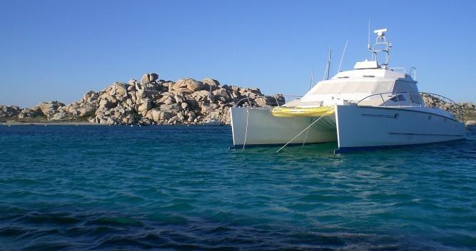 Catamaran for rent Castelsardo at the best price