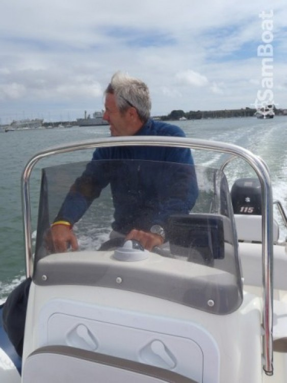 Hire RIB with or without skipper Bombard Lorient