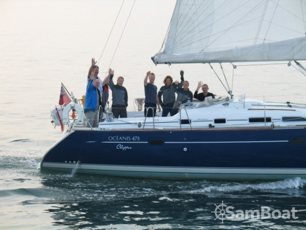 Bénéteau Oceanis 473 between personal and professional Eastleigh