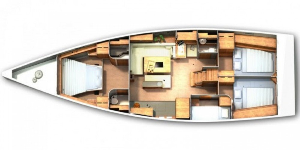 Rental yacht Eastleigh - Hanse Hanse 505 on SamBoat
