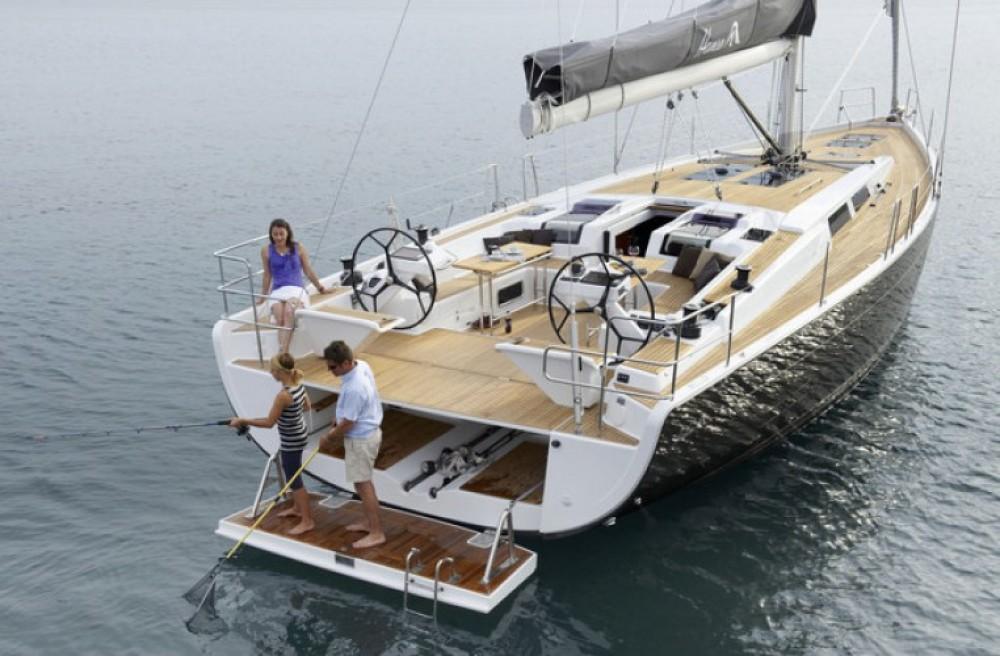 Boat rental Eastleigh cheap Hanse 505