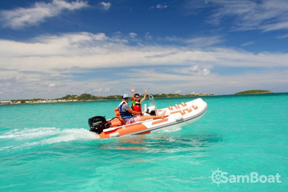 Boat rental Marigot cheap rib 350