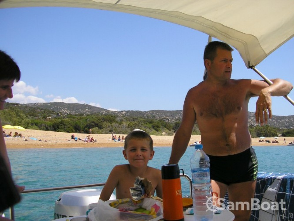 Boat rental Propriano cheap Week End 700