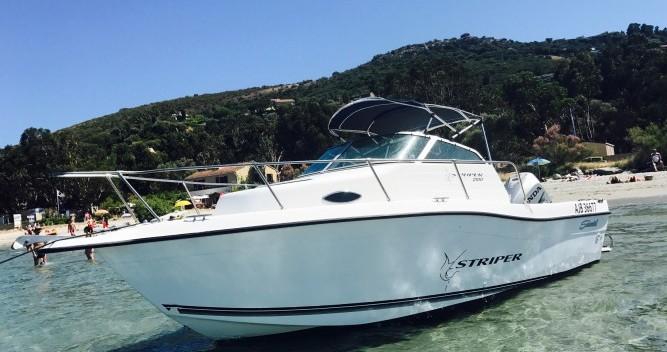 Rent a Seawril Striper2100 Ajaccio