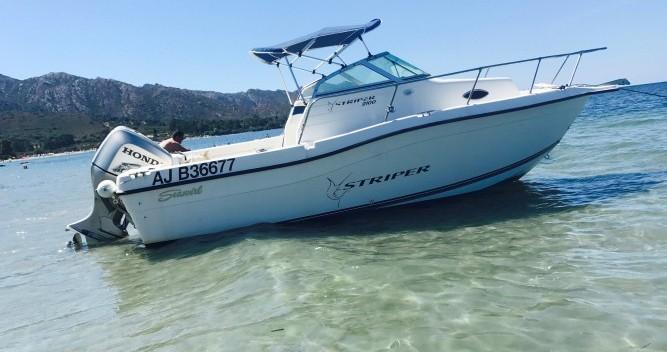 Rental Motorboat Seawril with a permit
