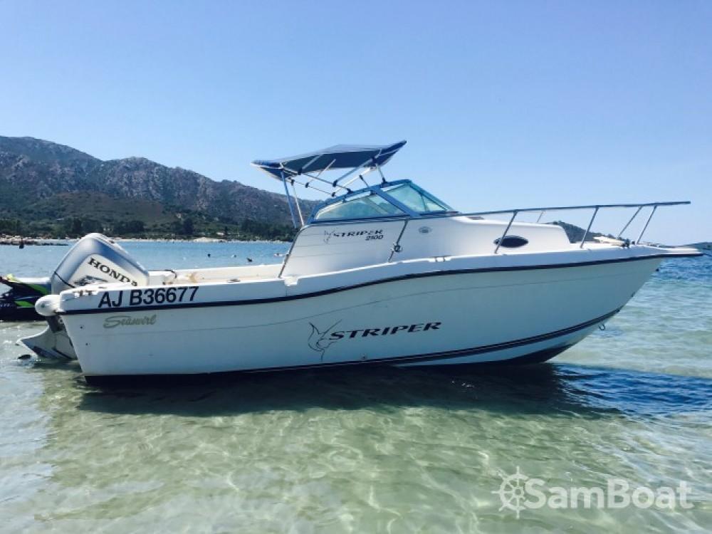 Rental Motorboat in Ajaccio - Seawril Striper2100
