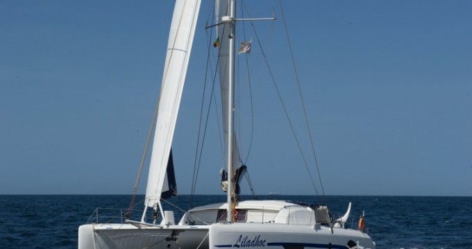 Outremer Outremer 49 between personal and professional Leucate