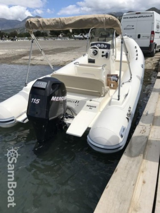 Hire RIB with or without skipper Nuova Jolly Saint-Florent