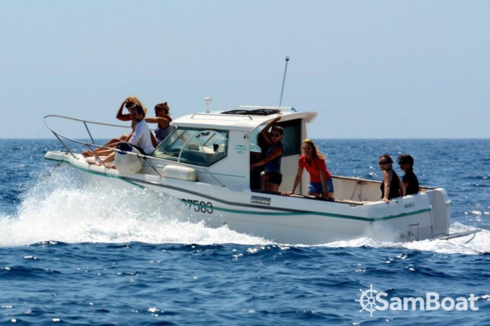 Boat rental Marseille cheap Ocqueteau 625