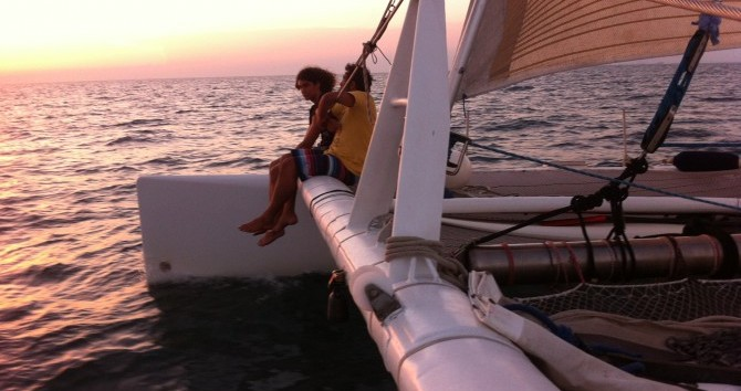 Hire Catamaran with or without skipper Launet-Sa Port-Camargue