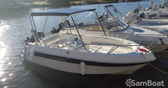 Boat rental Saint-Florent cheap Evoluzione 18