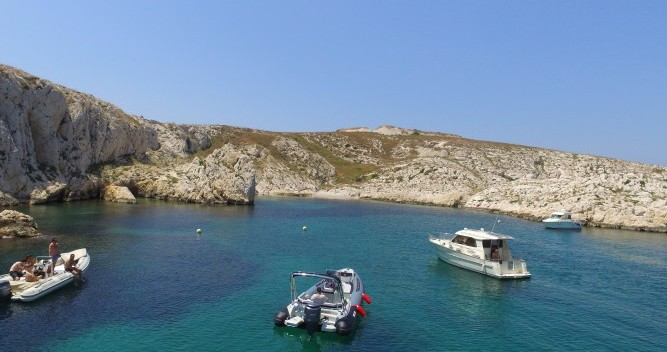 Boat rental Old Port of Marseille cheap 70 RS