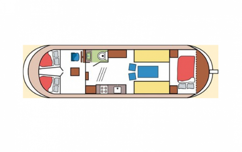 Rental yacht Saint-Nicolas-des-Eaux - Bies Motortjalk Bies on SamBoat