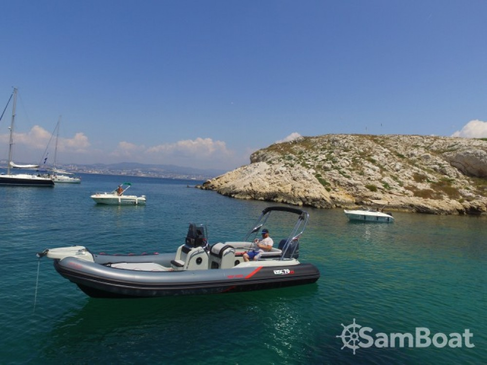 Boat rental Marseille cheap 70 RS