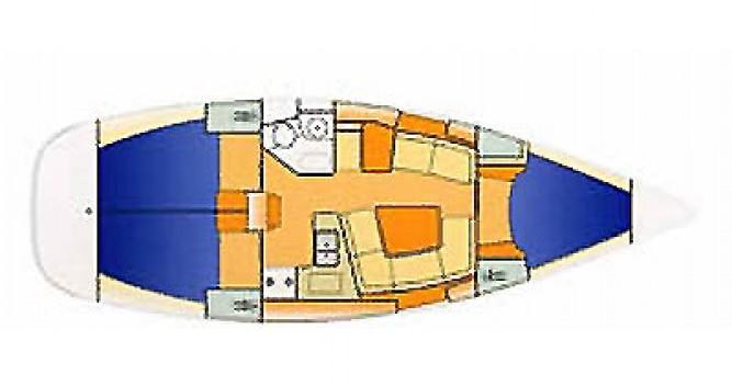 Boat rental Jeanneau 37 in Hamble-le-Rice on Samboat