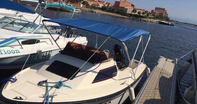 Rental yacht Le Barcarès - Jeanneau Cap 390 on SamBoat