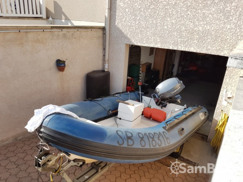 Hire RIB with or without skipper Zeppelin Conflans-Sainte-Honorine