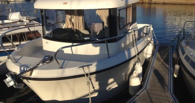 Rental Motorboat in Douarnenez - Quicksilver Quicksilver 650 Camping
