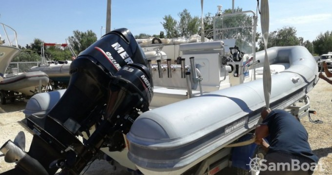 Boat rental San Foca cheap Novamarine RH700