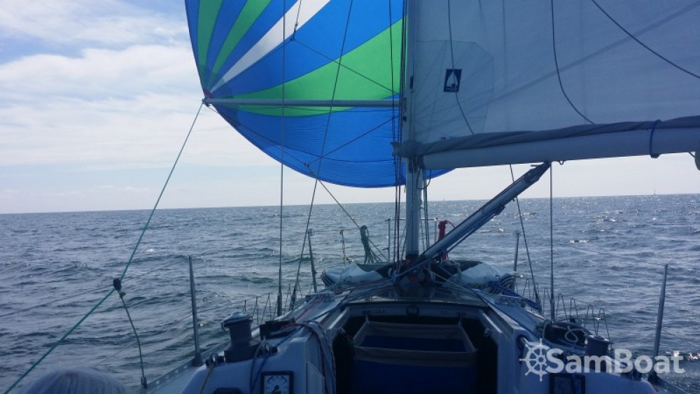 Archambault Sprint 95 between personal and professional Le Verdon-sur-Mer