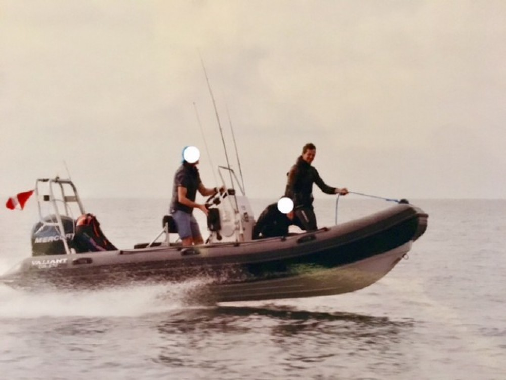 Hire RIB with or without skipper Valiant Céaux