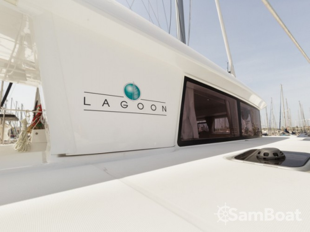 Lagoon Lagoon 400 S2 between personal and professional Athens