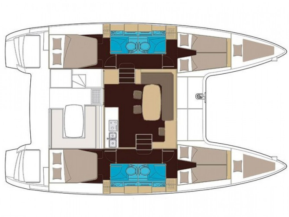 Catamaran for rent Athens at the best price