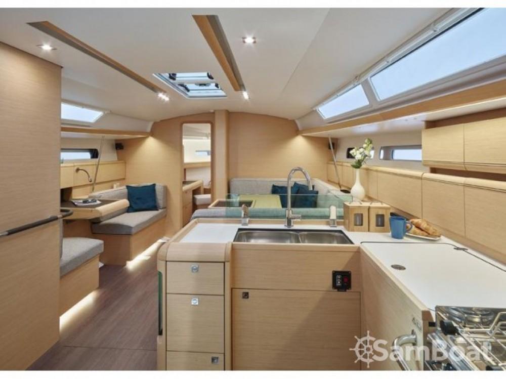 Boat rental Primošten cheap Sun Odyssey 449