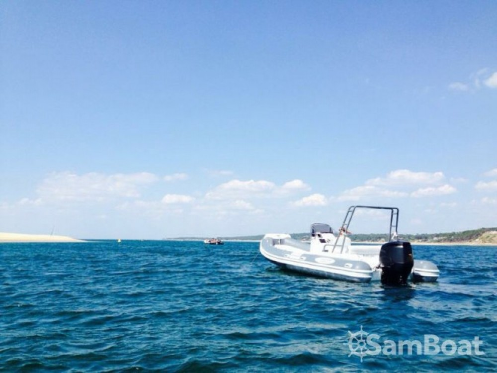 Rental RIB Nautica Led with a permit