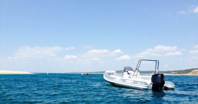 Rental RIB in Lège-Cap-Ferret - Nautica Led LED 680