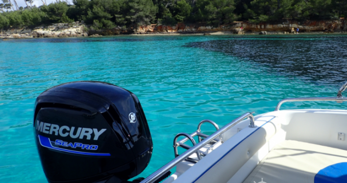 Hire Motorboat with or without skipper Conero Mandelieu-la-Napoule