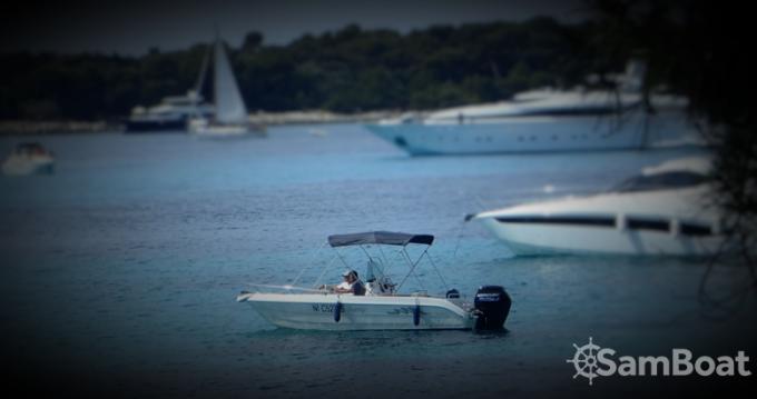 Rental Motorboat Conero with a permit
