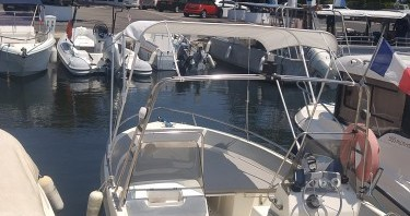 Hire Motorboat with or without skipper Ultramar Antibes