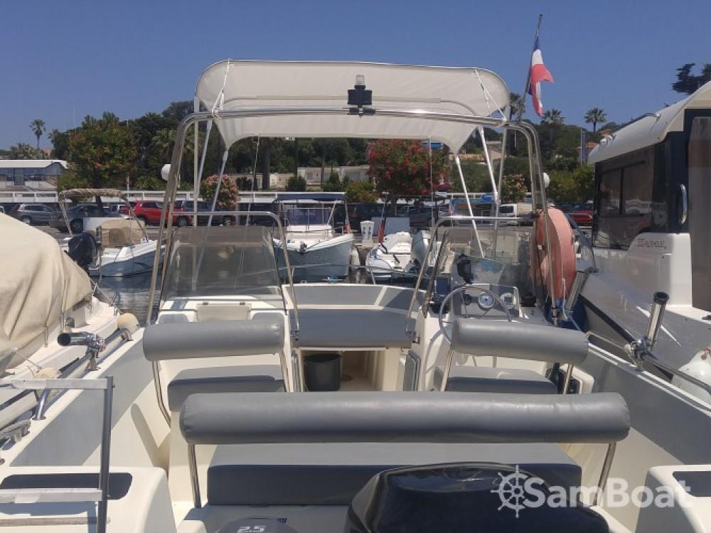 Boat rental Antibes cheap OPEN 570