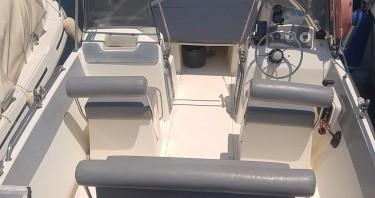 Rental Motorboat in Antibes - Ultramar OPEN 570