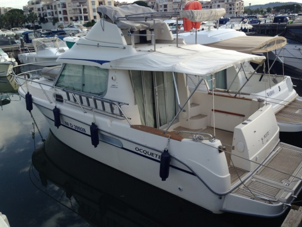 Rental Motor boat in Mandelieu-la-Napoule - Ocqueteau Ocqueteau 885