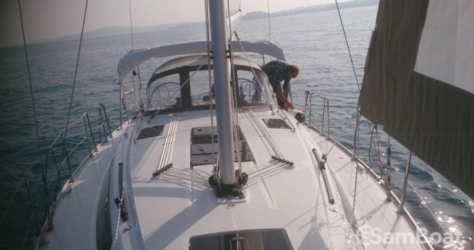 Bavaria Cruiser 37 between personal and professional Vallauris