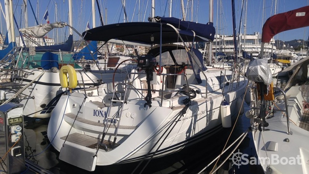 Jeanneau Sun Odyssey 36i between personal and professional Cannes