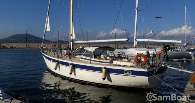 Boat rental Hallberg-Rassy Hallberg Rassy 42E in Villeneuve-Loubet on Samboat