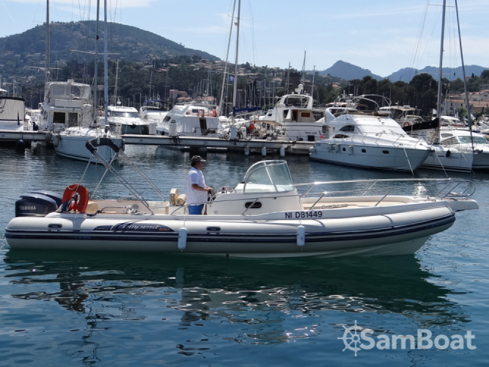 Rental yacht Mandelieu-la-Napoule - Capelli Tempest 900 WA on SamBoat