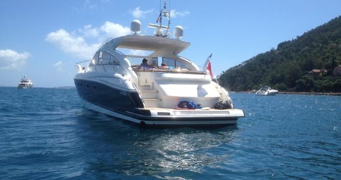 Rental yacht Mandelieu-la-Napoule - Princess Princess V53 on SamBoat