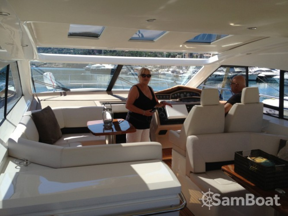 Boat rental Mandelieu-la-Napoule cheap Princess V53